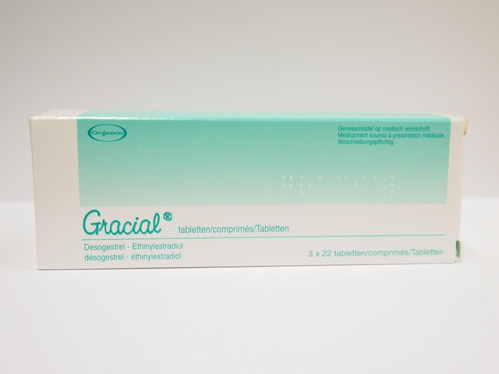 anticoncepcional gracial organon